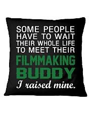Filmmaking Buddy Square Pillowcase thumbnail