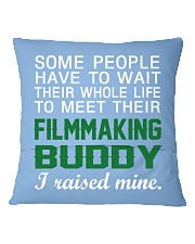 Filmmaking Buddy Square Pillowcase back
