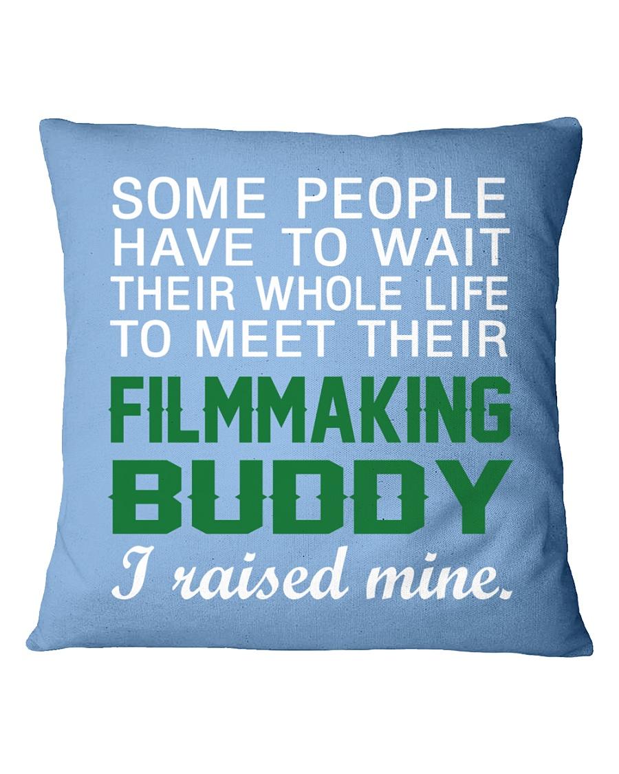 Filmmaking Buddy Square Pillowcase