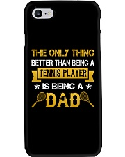 A tennis player and a dad Phone Case thumbnail