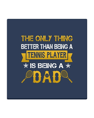 A tennis player and a dad