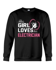 Loves Her Electrician Crewneck Sweatshirt thumbnail