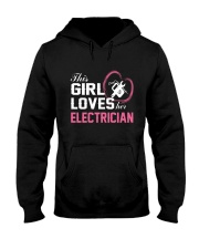 Loves Her Electrician Hooded Sweatshirt thumbnail