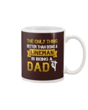 A Lineman and a Dad Mug thumbnail