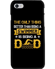 A swimmer and dad Phone Case thumbnail