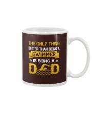 A swimmer and dad Mug thumbnail