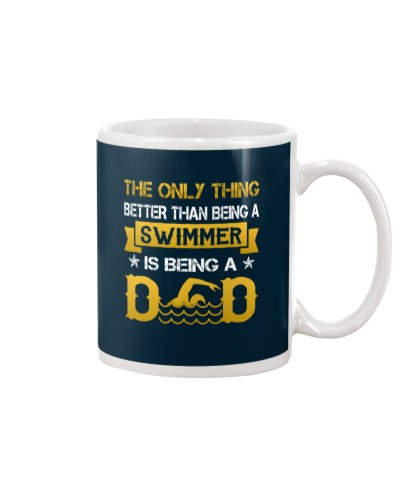 A swimmer and dad