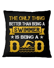 A swimmer and dad Square Pillowcase thumbnail