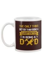 A carpenter and a dad Mug back