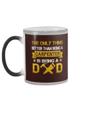 A carpenter and a dad Color Changing Mug color-changing-left