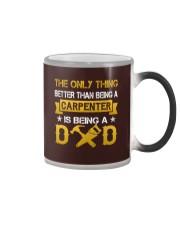 A carpenter and a dad Color Changing Mug thumbnail