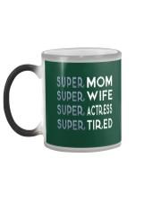 Super Actress Mom Color Changing Mug color-changing-left