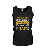 An electrician and a dad Unisex Tank thumbnail