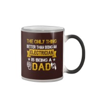 An electrician and a dad Color Changing Mug thumbnail