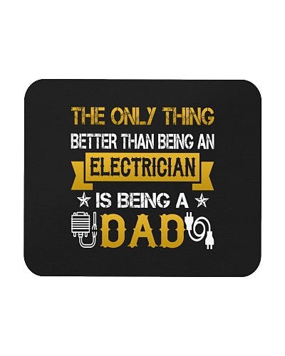 An electrician and a dad