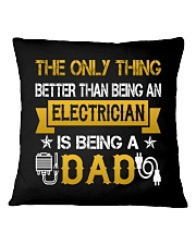 An electrician and a dad Square Pillowcase thumbnail