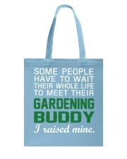 Gardening Buddy Tote Bag front