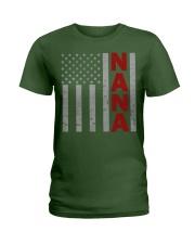American Nana Flag Ladies T-Shirt tile