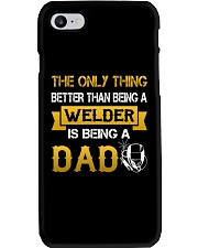 A Welder and a dad Phone Case thumbnail