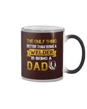 A Welder and a dad Color Changing Mug thumbnail