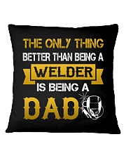 A Welder and a dad Square Pillowcase thumbnail