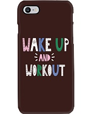 Wake up and workout Phone Case thumbnail