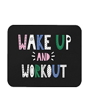 Wake up and workout Mousepad tile