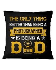 A photographer and a dad Square Pillowcase thumbnail