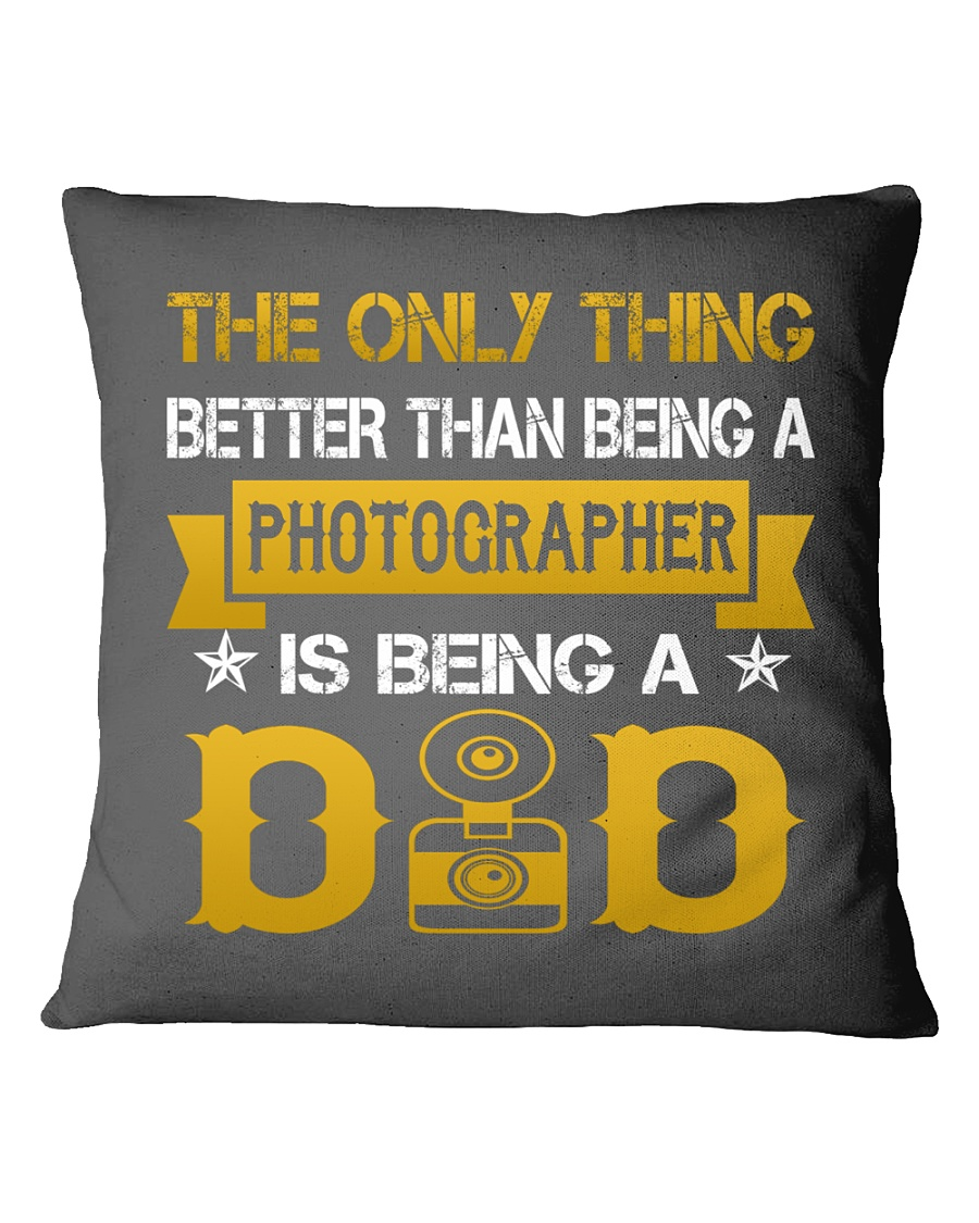 A photographer and a dad Square Pillowcase