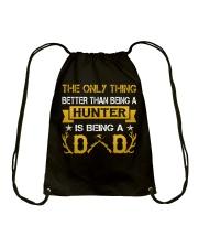 A hunter and a dad Drawstring Bag thumbnail