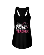 Loves Her Teacher Ladies Flowy Tank thumbnail