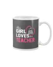 Loves Her Teacher Mug thumbnail
