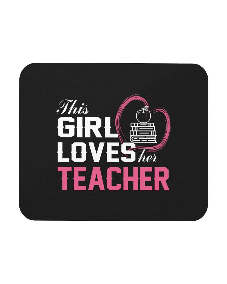 Loves Her Teacher Mousepad