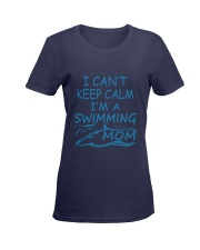 I'M A SWIMMING MOM Ladies T-Shirt women-premium-crewneck-shirt-front