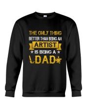 An artist and a dad Crewneck Sweatshirt thumbnail