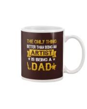 An artist and a dad Mug thumbnail