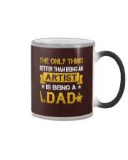 An artist and a dad Color Changing Mug thumbnail