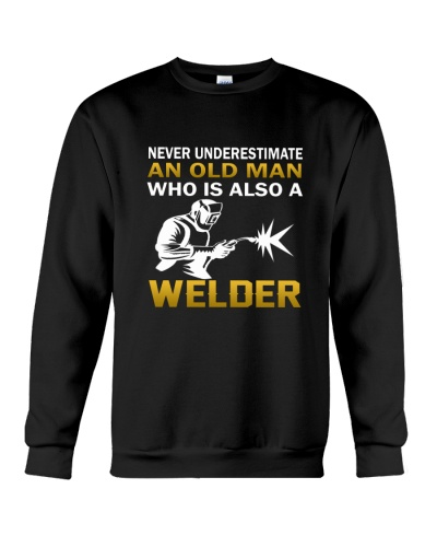 Old Man - A Welder
