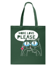 More love please Tote Bag thumbnail
