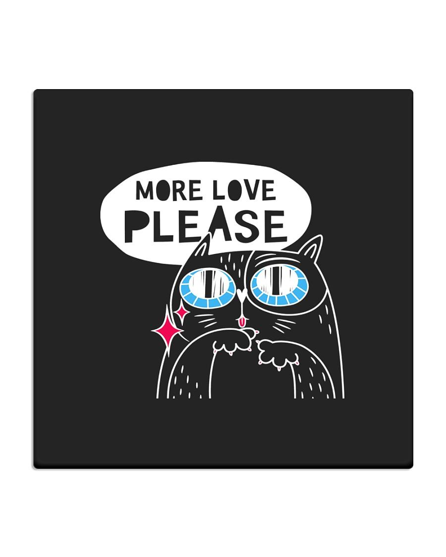 More love please Square Coaster