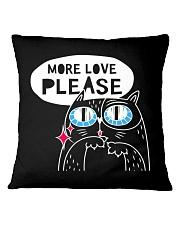 More love please Square Pillowcase thumbnail