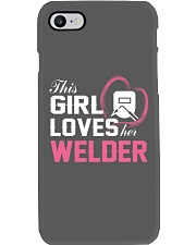 Loves Her Welder Phone Case tile