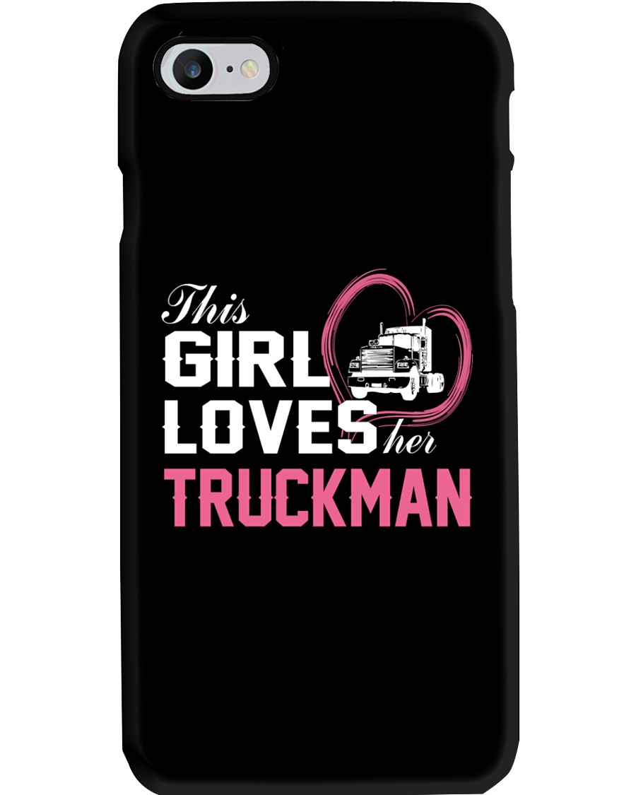 Loves Her Truckman Phone Case