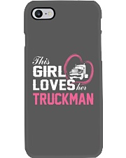 Loves Her Truckman Phone Case thumbnail