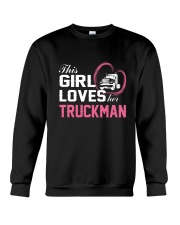 Loves Her Truckman Crewneck Sweatshirt thumbnail