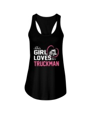 Loves Her Truckman Ladies Flowy Tank thumbnail