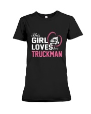Loves Her Truckman Premium Fit Ladies Tee thumbnail