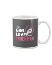 Loves Her Truckman Mug tile