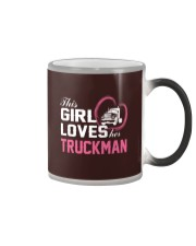 Loves Her Truckman Color Changing Mug thumbnail