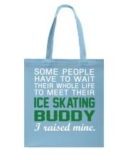 Ice Skating Buddy Tote Bag front